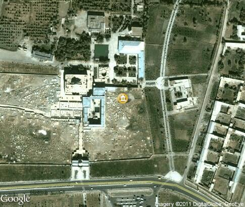 map: Naqshbandi Mausoleum