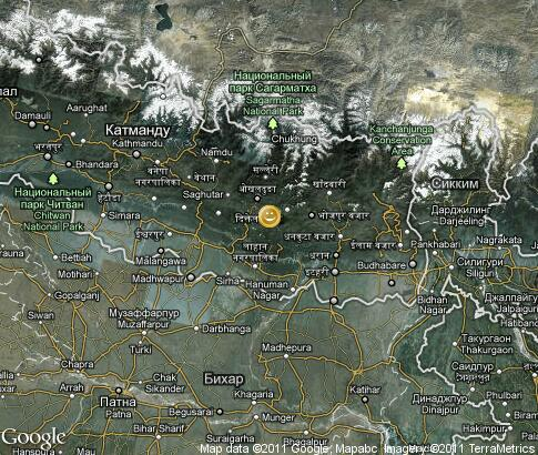 map: Nepal, entertainment
