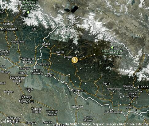 map: Nepal, handicraft