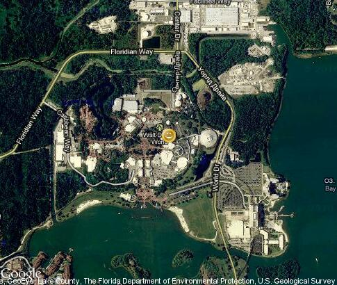 map: Walt Disney World